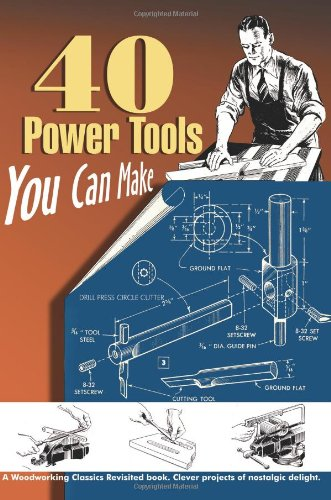 40 Power Tools You Can Make   2008 9781933502205 Front Cover