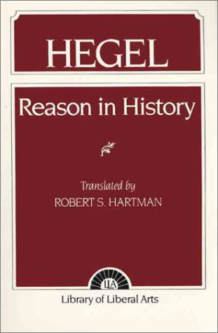 Hegel Reason in History 1st 1995 edition cover