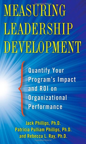 Measuring Leadership Development Quantify Your Program's Impact and ROI on Organizational Performance  2012 edition cover
