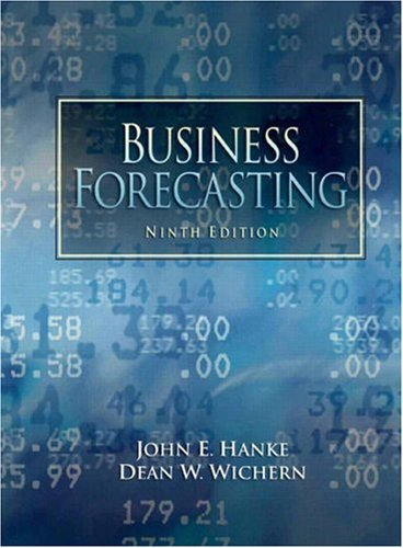 Business Forecasting  9th 2009 edition cover