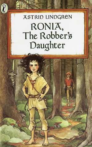 Ronia, the Robber's Daughter   1983 edition cover