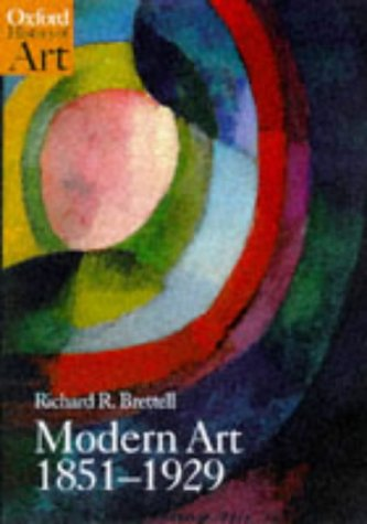 Modern Art, 1851-1929   1999 edition cover