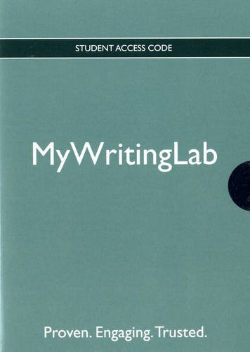 Mywritinglab   2010 edition cover