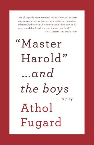 Master Harold and the Boys  N/A edition cover