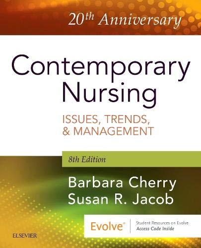 Contemporary Nursing: Issues, Trends, & Management  2018 9780323554206 Front Cover