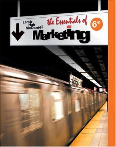 Essentials of Marketing  6th 2009 edition cover