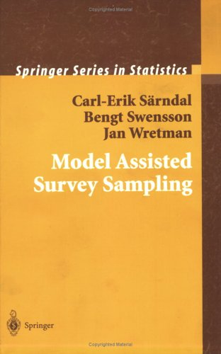 Model Assisted Survey Sampling   1992 edition cover