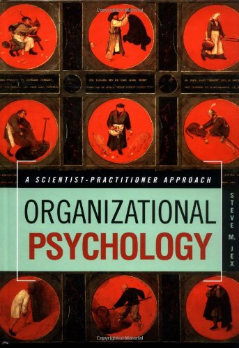 Organizational Psychology A Scientist-Practitioner Approach  2002 9780471374206 Front Cover
