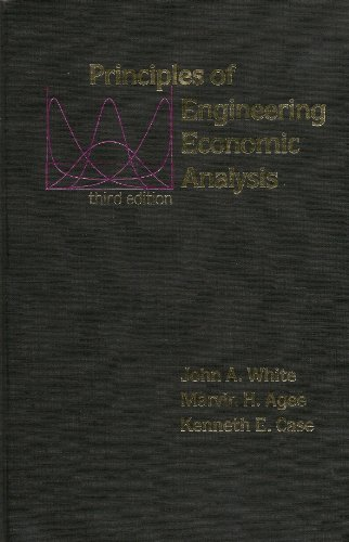 Principles of Engineering Economic Analysis  3rd 1989 9780471613206 Front Cover