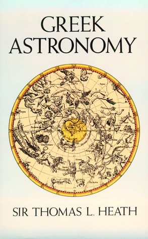 Greek Astronomy   1991 edition cover