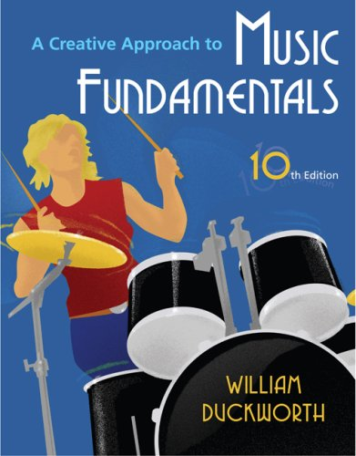 Creative Approach to Music Fundamentals (with Music Fundamental in Action Passcard, and Keyboard and Guitar Insert)  10th 2010 edition cover