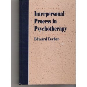 Interpersonal Process in Psychotherapy A Guide for Clinical Training 2nd 1992 edition cover