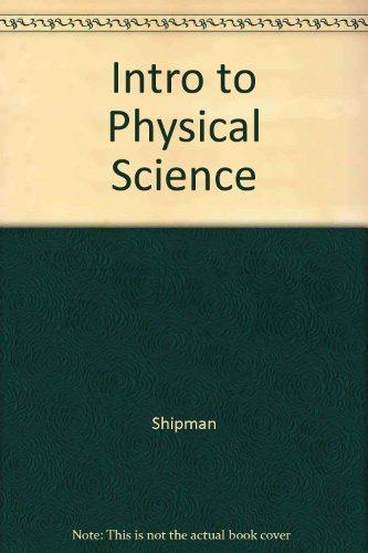Introduction to Physical Science with Pauk Chapters, Tenth Edition  10th 2003 9780618223206 Front Cover
