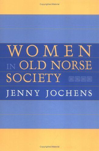 Women in Old Norse Society  N/A edition cover