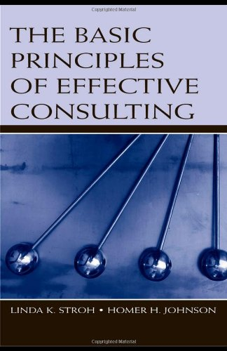 Basic Principles of Effective Consulting   2006 edition cover