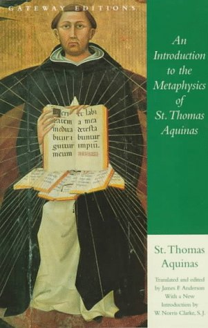 Introduction to the Metaphysics of St. Thomas Aquinas  2nd 1997 edition cover