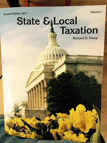 State and Local Taxation 4th 2001 (Revised) 9780965372206 Front Cover
