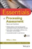 Essentials of Processing Assessment  2nd 2013 9781118368206 Front Cover