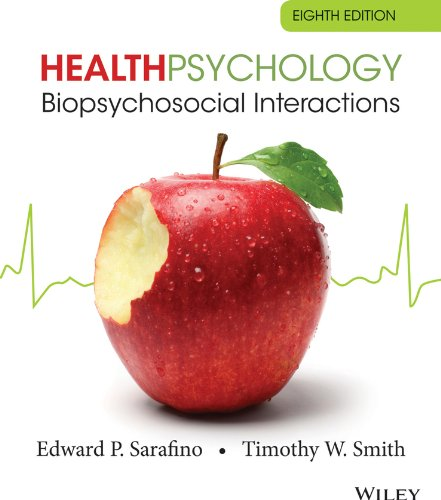 Health Psychology Biopsychosocial Interactions 8th 2014 edition cover