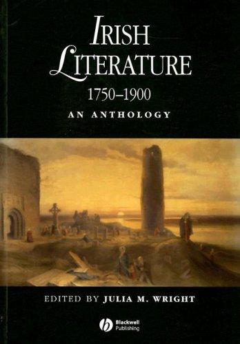 Irish Literature 1750-1900 An Anthology  2008 edition cover