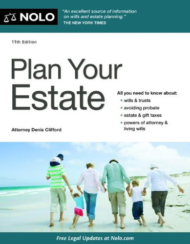 Plan Your Estate  11th (Revised) 9781413317206 Front Cover