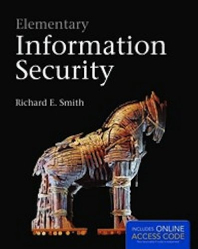 Elementary Information Security   2013 edition cover