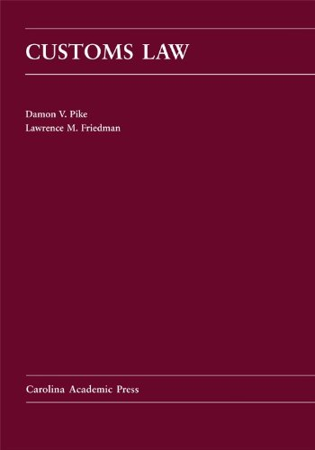 Customs Law   2012 edition cover