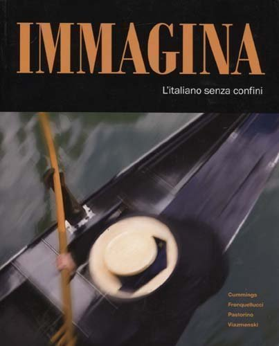 Immagina  Student Manual, Study Guide, etc. edition cover