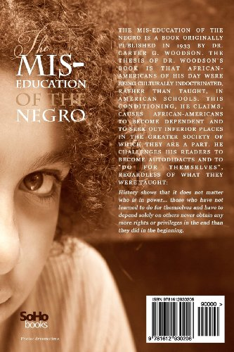 Mis-Education of the Negro  N/A edition cover