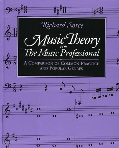 Music Theory for the Music Professional A Comparison of Common-Practice and Popular Genres N/A edition cover