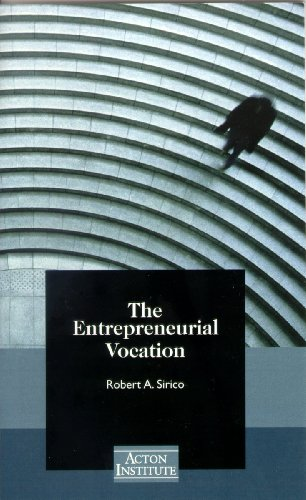 Entrepreneurial Vocation   2001 9781880595206 Front Cover