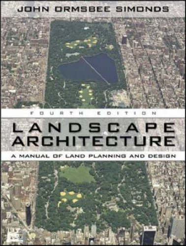Landscape Architecture A Manual of Environmental Planning and Design 4th 2006 (Revised) edition cover