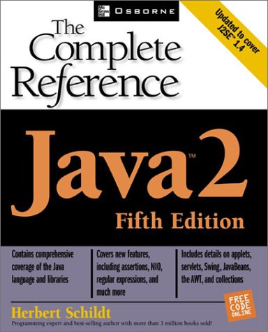Java 2 The Complete Reference 5th 2002 9780072224207 Front Cover