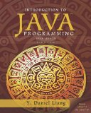 Intro to Java Programming, Brief Version  10th 2015 9780133592207 Front Cover