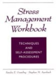 Stress Management Techniques and Self-Assessment Procedures 1st 1998 (Workbook) edition cover