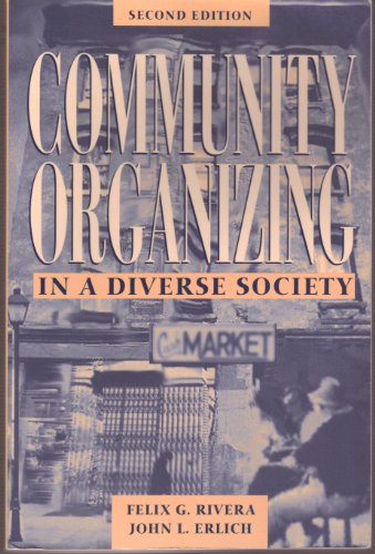 Community Organizing in a Diverse Society  2nd 1995 edition cover