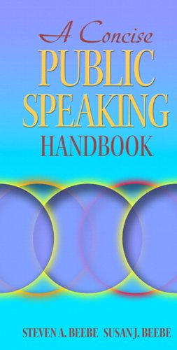 Concise Public Speaking Handbook   2006 9780205440207 Front Cover