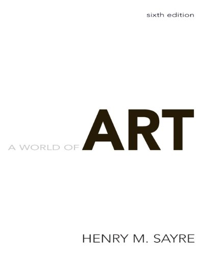 World of Art  6th 2010 edition cover
