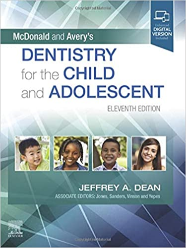 Cover art for McDonald and Avery's Dentistry for the Child and Adolescent, 11th Edition