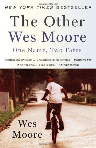Other Wes Moore One Name, Two Fates N/A 9780385528207 Front Cover