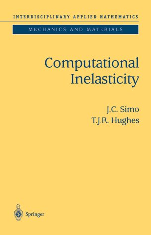 Computational Inelasticity   1998 edition cover