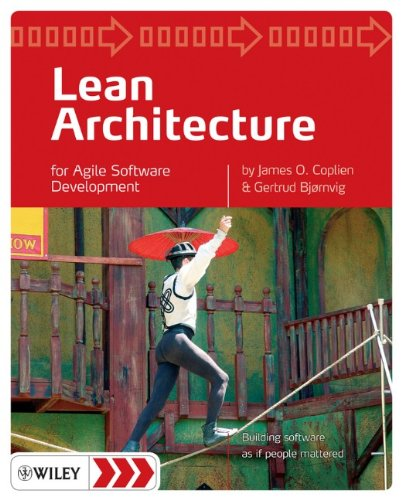 Lean Architecture For Agile Software Development  2010 edition cover