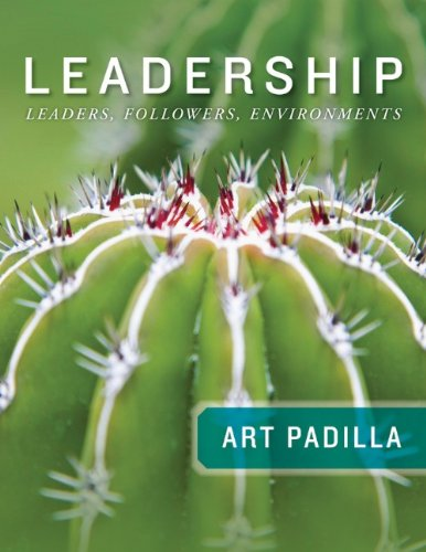 Leadership Leaders, Followers, and Environments  2013 edition cover