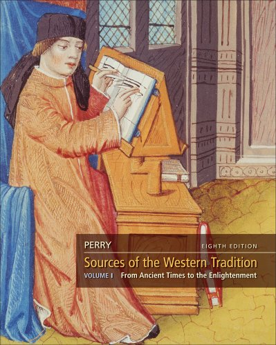 Sources of the Western Tradition, Volume 1  8th 2012 edition cover