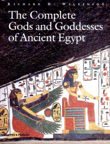Complete Gods and Goddesses of Ancient Egypt   2003 edition cover