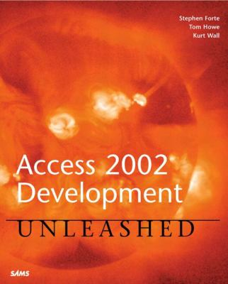 Access 2002 Development Unleashed   2002 9780672321207 Front Cover