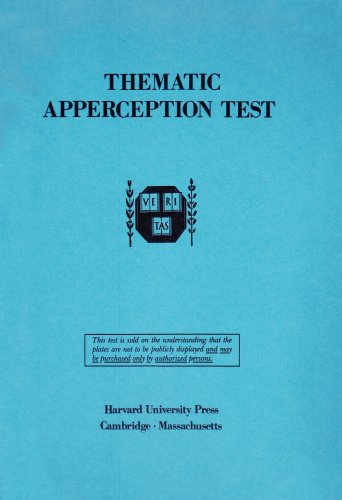Thematic Apperception Test   1943 (Student Manual, Study Guide, etc.) 9780674877207 Front Cover