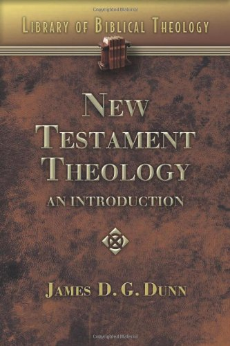 New Testament Theology An Introduction  2009 edition cover