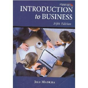 Introduction to Business:  2010 edition cover