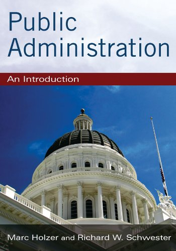 Public Administration An Introduction  2011 edition cover